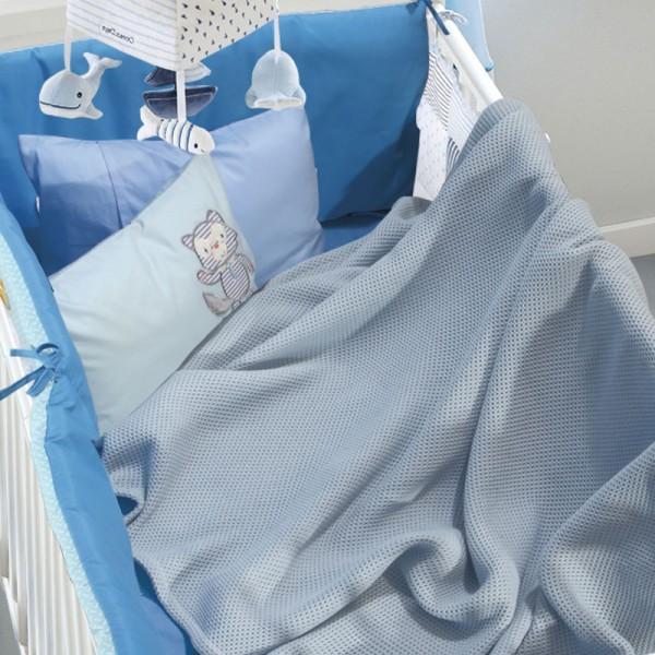 Κουβέρτα Πικέ Κούνιας Das Home 6545