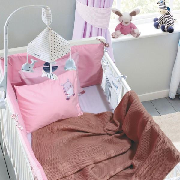 Κουβέρτα Πικέ Λίκνου Das Home 6544