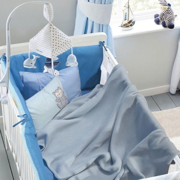 Κουβέρτα Πικέ Λίκνου Das Home 6545