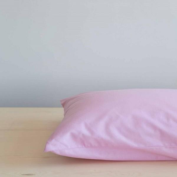 Ζεύγος Μαξιλαροθήκες Nima Home Unicolors Light Pink