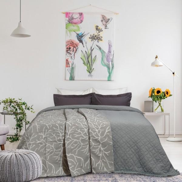 Κουβέρτα Jacquard Υπέρδιπλη Das Home 415