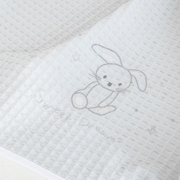 Κουβέρτα Πικέ Κούνιας Nima Home Baby Bunny