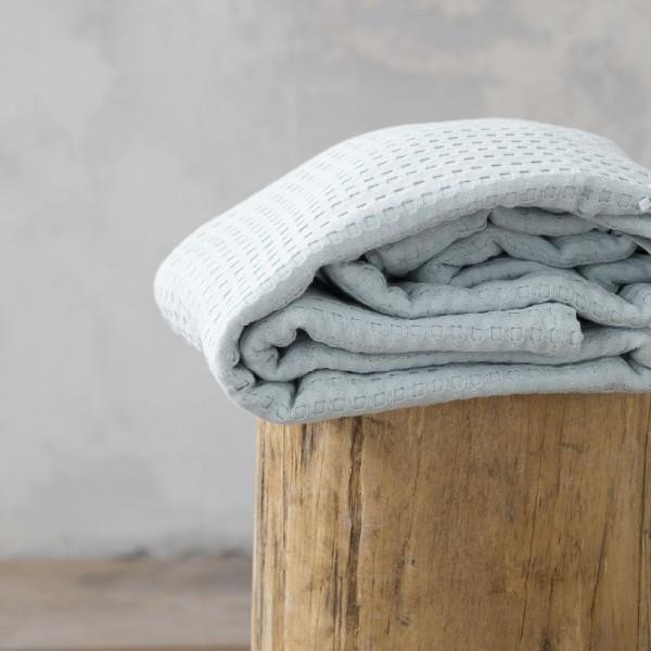 Κουβέρτα Πικέ Μονή Nima Home Habit Mint