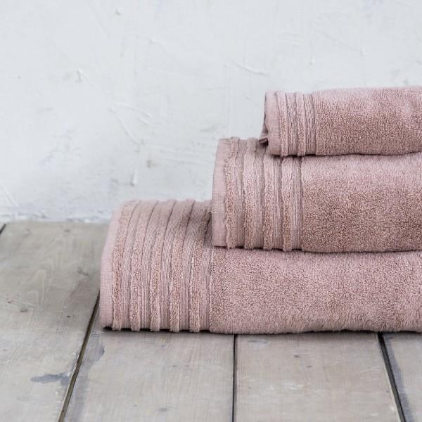 Πετσέτα Χεριών Nima Home Vista Dusty Pink
