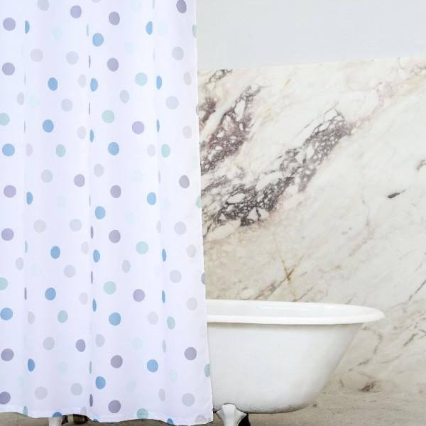 Κουρτίνα Μπάνιου 200Χ180 Nima Home Pointille