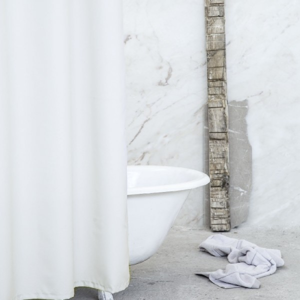 Κουρτίνα Μπάνιου 200Χ180 Nima Home Essential Beige