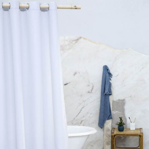 Κουρτίνα Μπάνιου 200Χ180 Nima Home Essential Gray