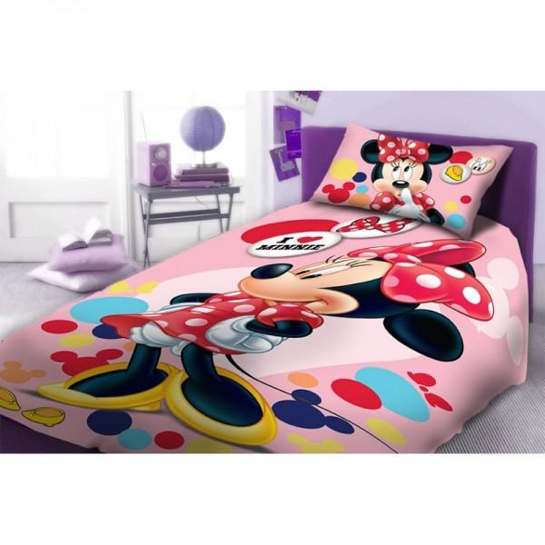 Σεντόνια Μονά (σετ) 2 Τεμαχίων Dim Collection Disney Minnie 952
