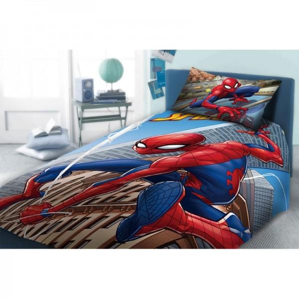 Σεντόνια Μονά (σετ) 3 Τεμαχίων Dim Collection Disney Spiderman 913