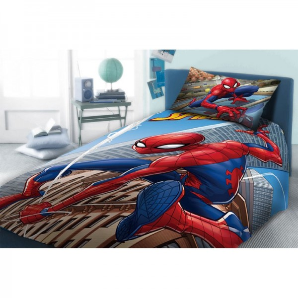 Σεντόνια Μονά (σετ) 2 Τεμαχίων Dim Collection Disney Spiderman 912