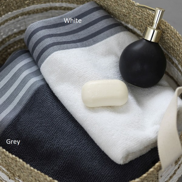 Πετσέτες (σετ) Palamaiki Cholet White
