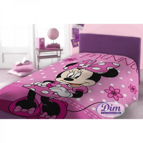 Κουβέρτα Πικέ Μονή Dim Collection Disney Minnie 555