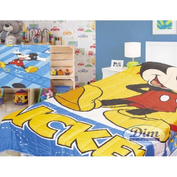 Κουβερλί Μονό Δύο Όψεων Disney Dim Collection Mickey 026
