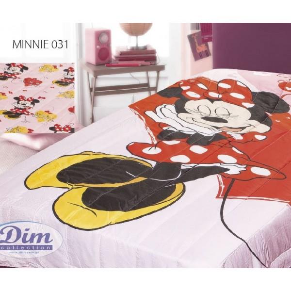 Κουβερλί Μονό Δύο Όψεων Disney Dim Collection Minnie 031