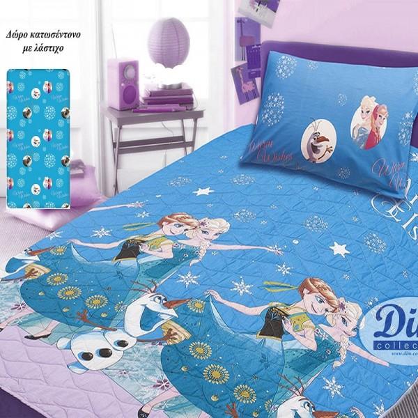 Κουβερλί Μονό (σετ) Disney Dim Collection Frozen 720