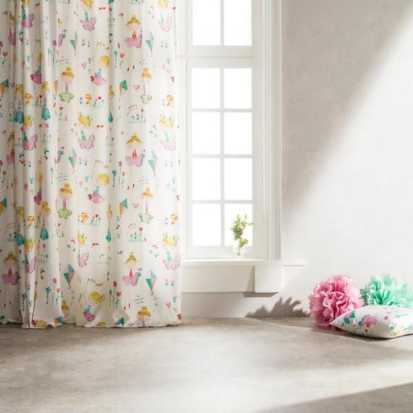 Κουρτίνα Παιδική Με Σιρίτι Gofis Home 349