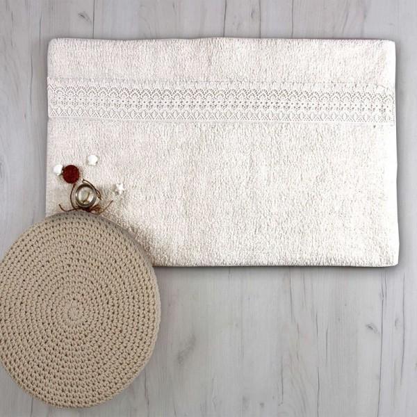 Πατάκι Μπάνιου Sb Home Lace Cream