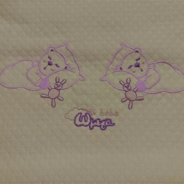 Κουβέρτα Πικέ Κούνιας Ωμέγα Bebe 54