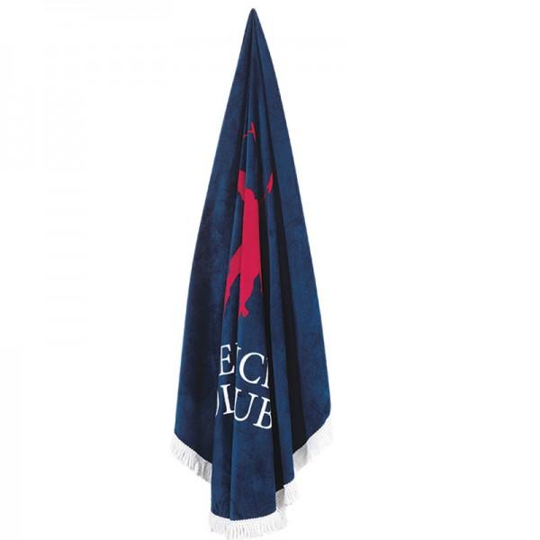 Στρογγυλή Πετσέτα Θαλάσσης Polo Club 2824