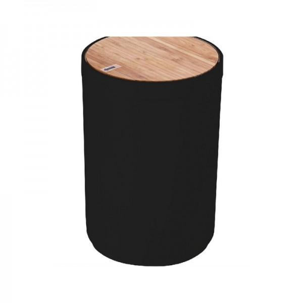 Κάδος Απορριμάτων 18Χ18Χ27 Με Καπάκι Bamboo εstia 02-3876