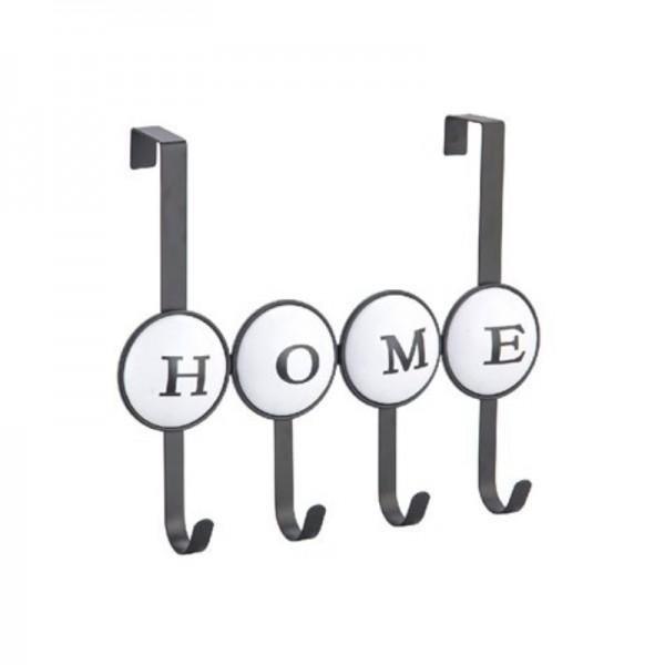 Κρεμάστρα Πόρτας 4 Θέσεων Ecocasa Home