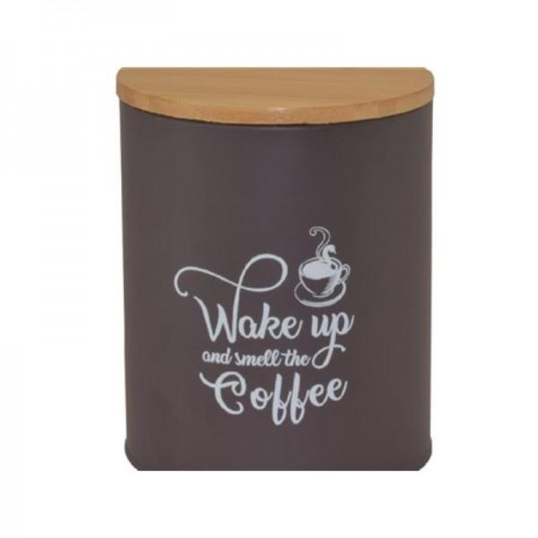 Μεταλλικό Δοχείο Για Καφέ εstia 01-3531 Μελιτζανί