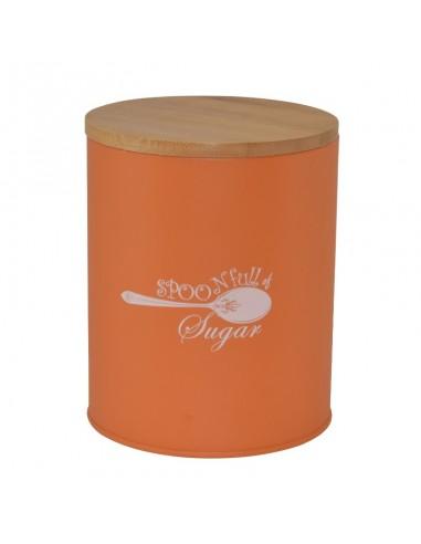 Μεταλλικό Δοχείο Για Καφέ εstia 01-3579 Πορτοκαλί