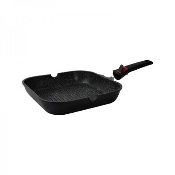 Γκριλιέρα Αντικολλητική 28cm Cooktech Series Ecocasa 01-2398
