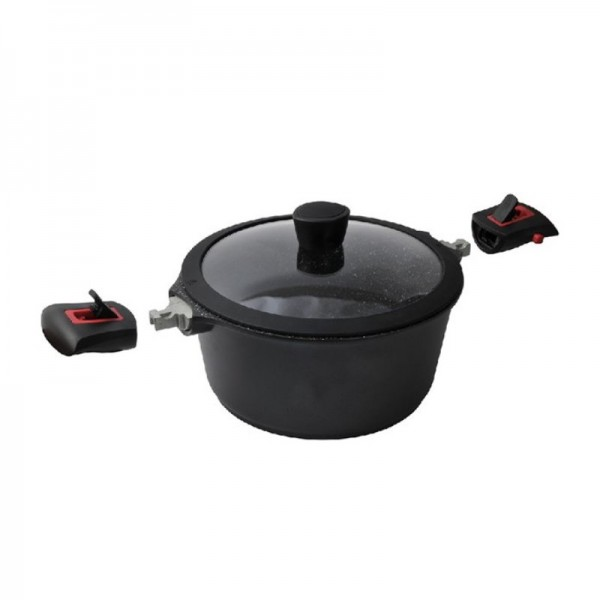 Κατσαρόλα Αντικολλητική 20cm Cooktech Series Ecocasa 01-2305