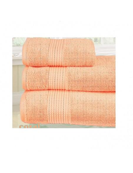 Πετσέτες (σετ) Sb Home Primus Salmon