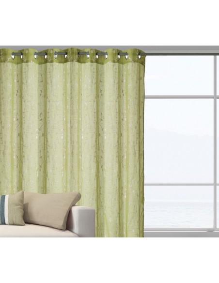 Κουρτίνα Με Τρουκς (140X280) Das Home 2047