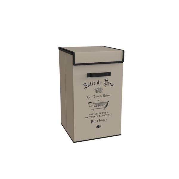 Καλάθι Απλύτων Salle De Bain Μπεζ εstia 02-5993