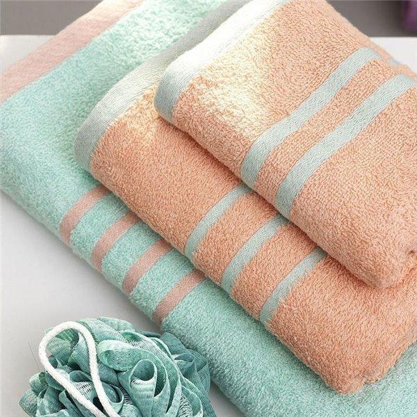 Πετσέτες (σετ) Palamaiki Contrast Bubble/Mint