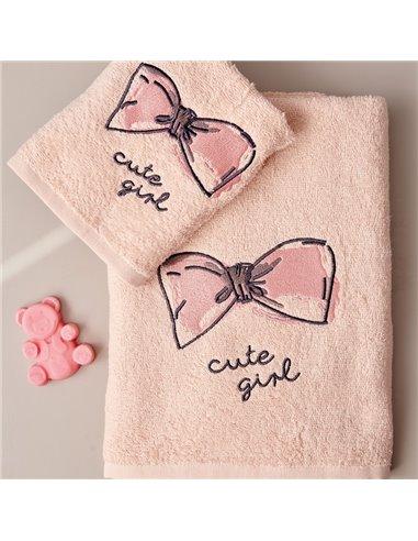 Πετσέτες (σετ) Palamaiki Cute Girl