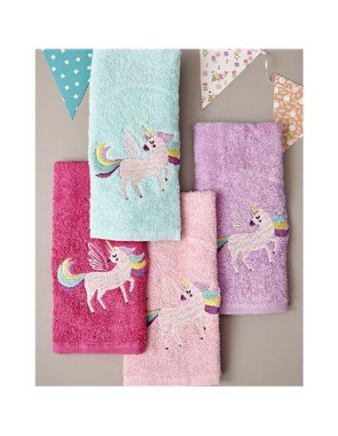 Πετσέτες (σετ) 4 Τεμαχίων Palamaiki Unicorn Magic
