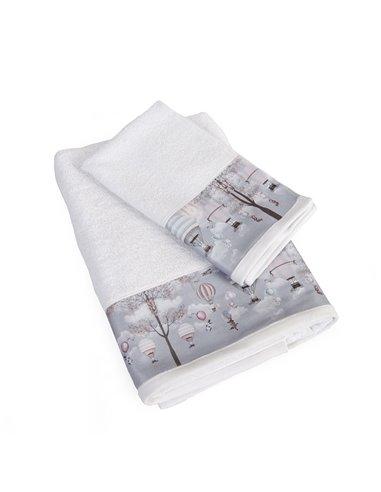 Πετσέτες (σετ) Dimcol Serenity 71 Λευκό