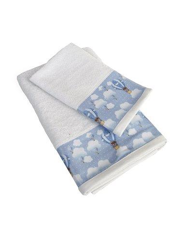 Πετσέτες (σετ) Dimcol Phileas 61 Λευκό