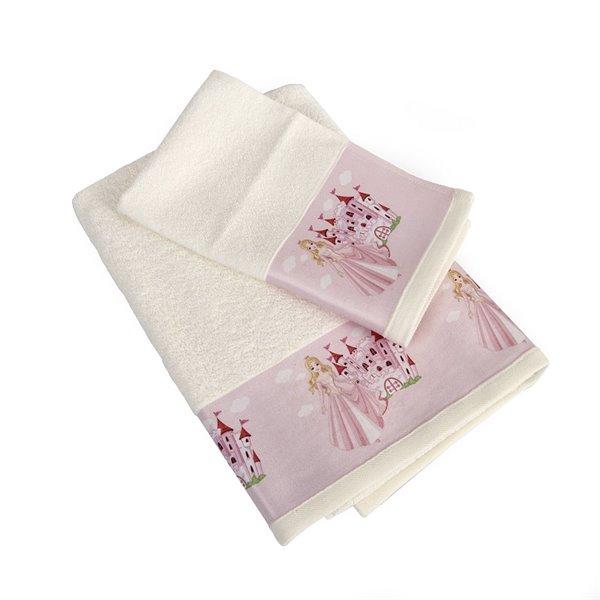 Πετσέτες (σετ) Dimcol Queen 67 Εκρού