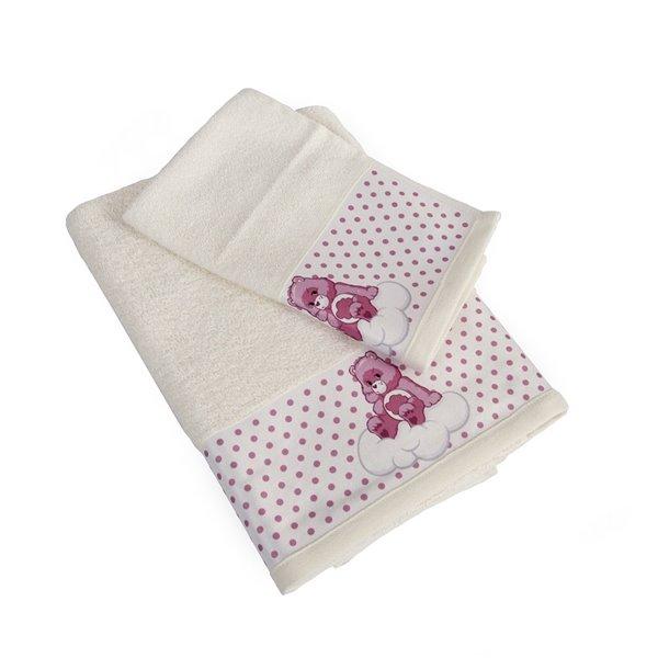 Πετσέτες (σετ) Dimcol Grumpy Bear 87 Εκρού