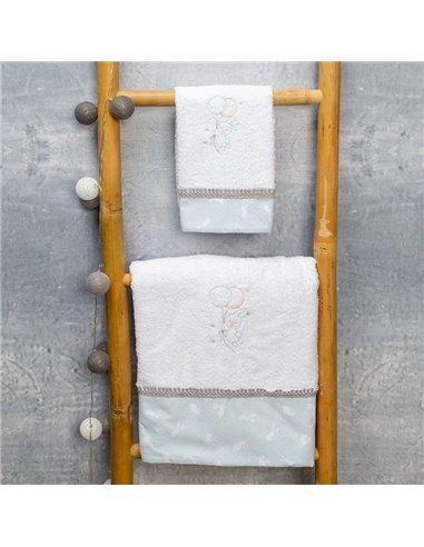 Πετσέτες (σετ) Abo Carrot Mint