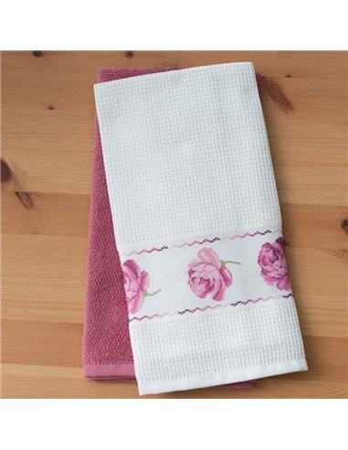 Πετσέτες (σετ) 2 Τεμαχίων Palamaiki Rouge