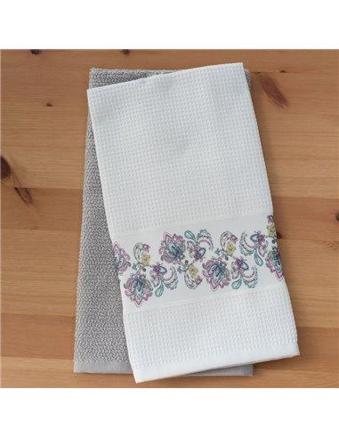Πετσέτες (σετ) 2 Τεμαχίων Palamaiki Heather