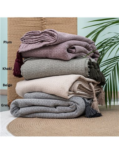 Κουβέρτα Καλοκαιρινή Υπέρδιπλη Palamaiki Zion