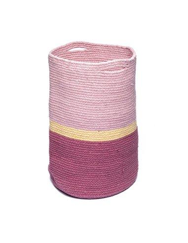Διακοσμητικό Καλάθι Αποθήκευσης Palamaiki Polichro Pink