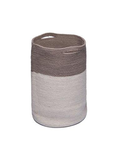 Διακοσμητικό Καλάθι Αποθήκευσης Palamaiki Keg Grey