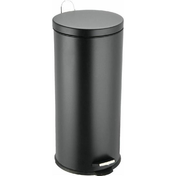 Κάδος Απορριμάτων Classic 30LT Μαύρος Mat εstia 01-9120