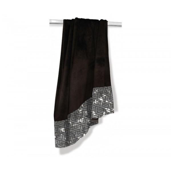 Πετσέτα Θαλάσσης Guy Laroche Jacquard Printed 5 Black