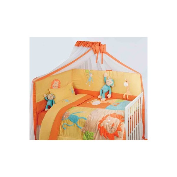 Κουβερλί Κούνιας (σετ) Das Home 6208 (Υ)