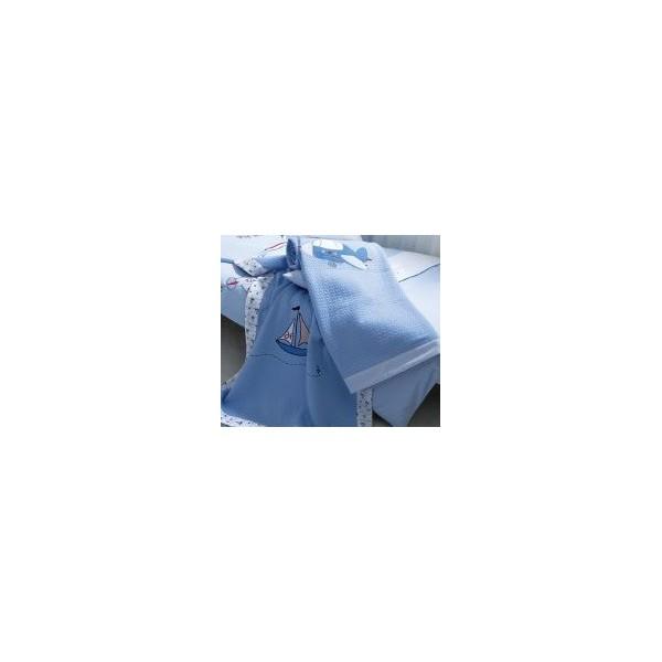 Κουβέρτα Πικέ Κούνιας Kentia Sailing