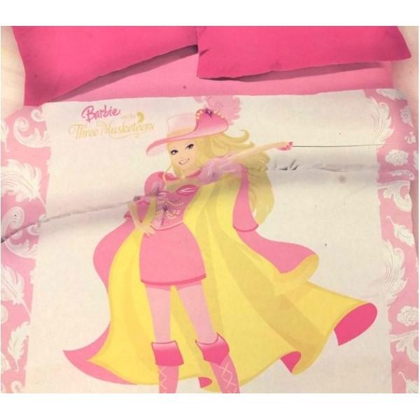 Κουβέρτα Βελουτέ Μονή Kentia 025BL Barbie (Υ)